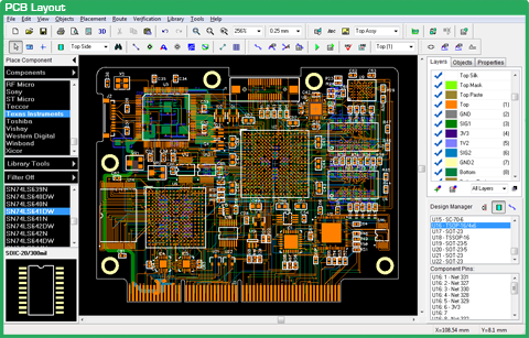 Pcb Layout Design | Pcb Layout Diptrace