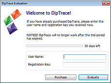 Diptrace Trial Panel