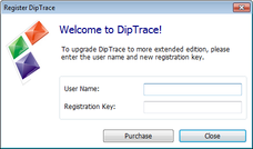 DipTrace Freeware Panel