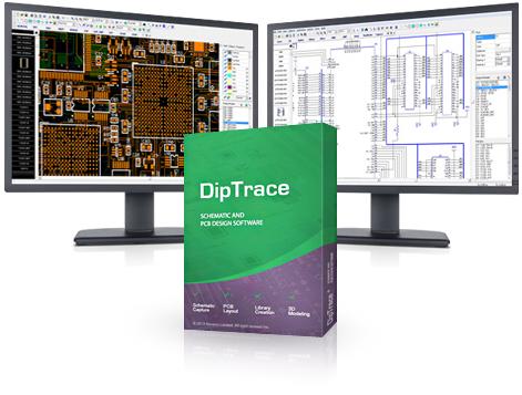 Windows 7 DipTrace Free 4.0.0.0 full